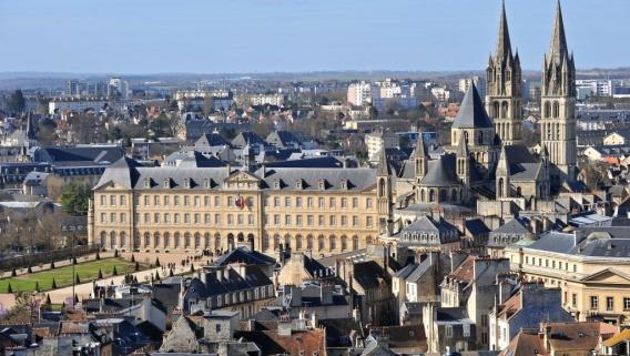 Marché Caen détection et géoréférencement éclairage public
