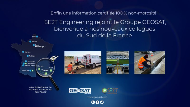Geosat Groupe et SE2T Engineering